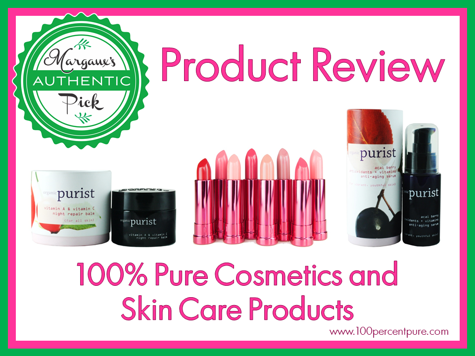 100 Percent Pure Cosmetics and Skin Care