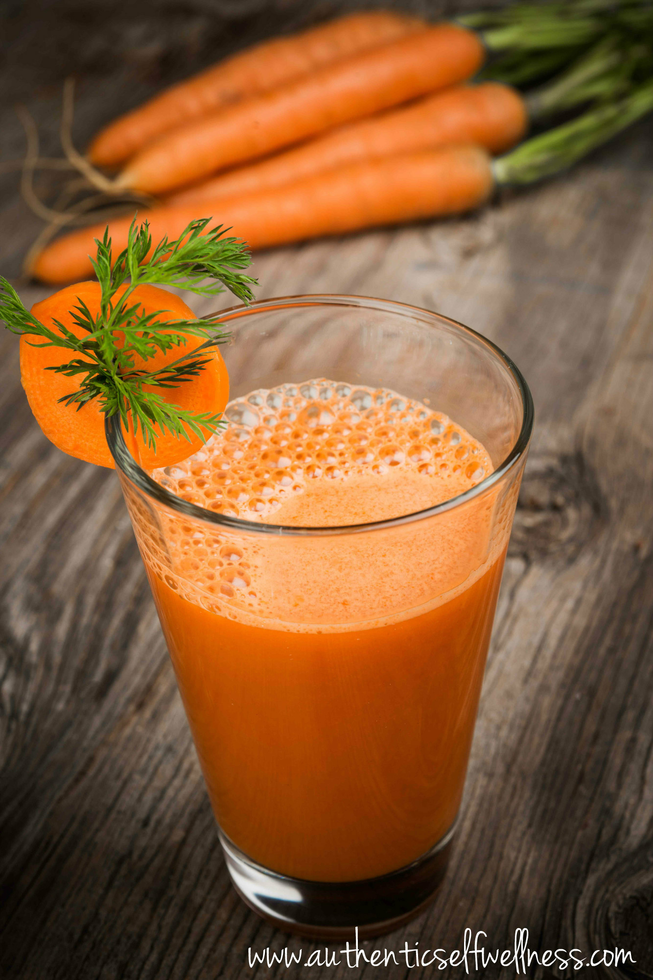 Ginger Turmeric Carrot Juice