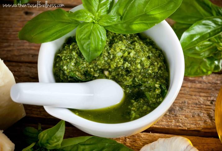 Spicy Pesto Recipe