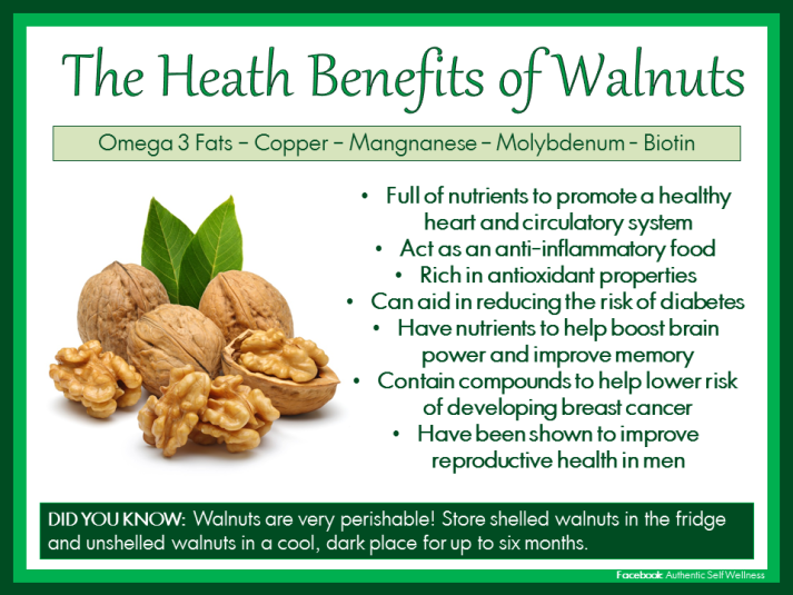 The Benefits of Walnuts