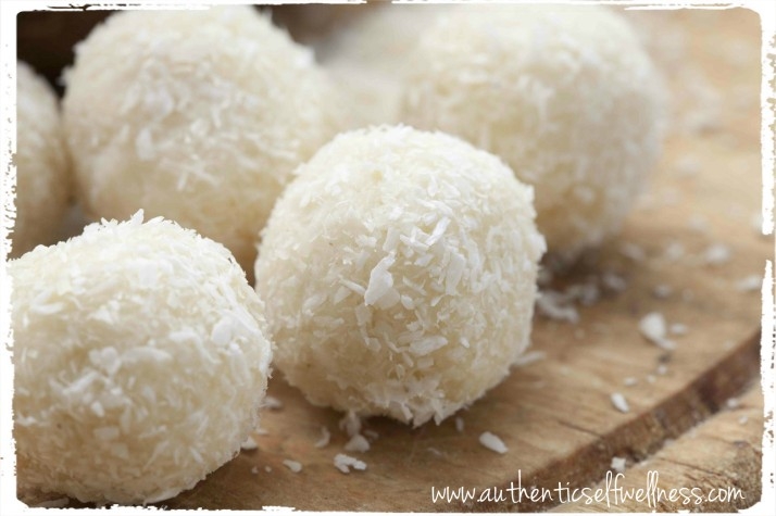 Tropical Energizing Coconut Balls