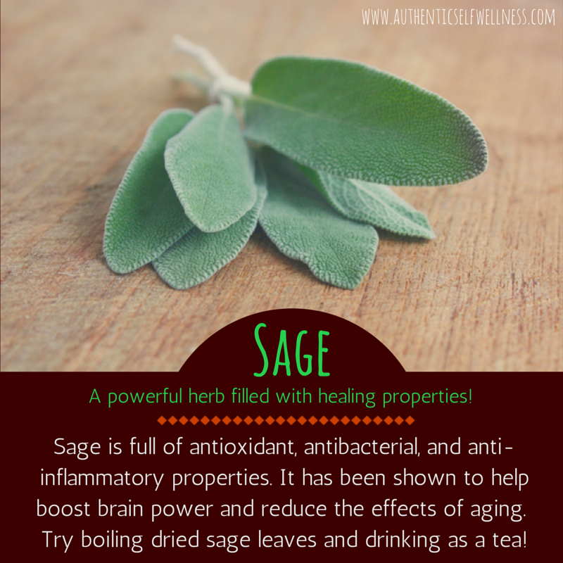 The Health Benefits of Sage