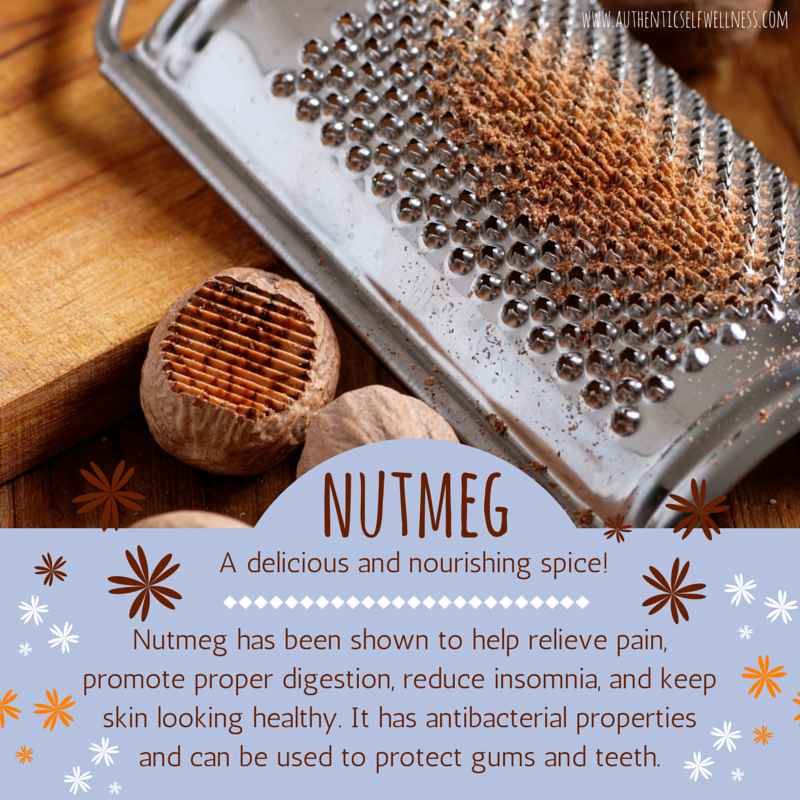 The health benefits of nutmeg