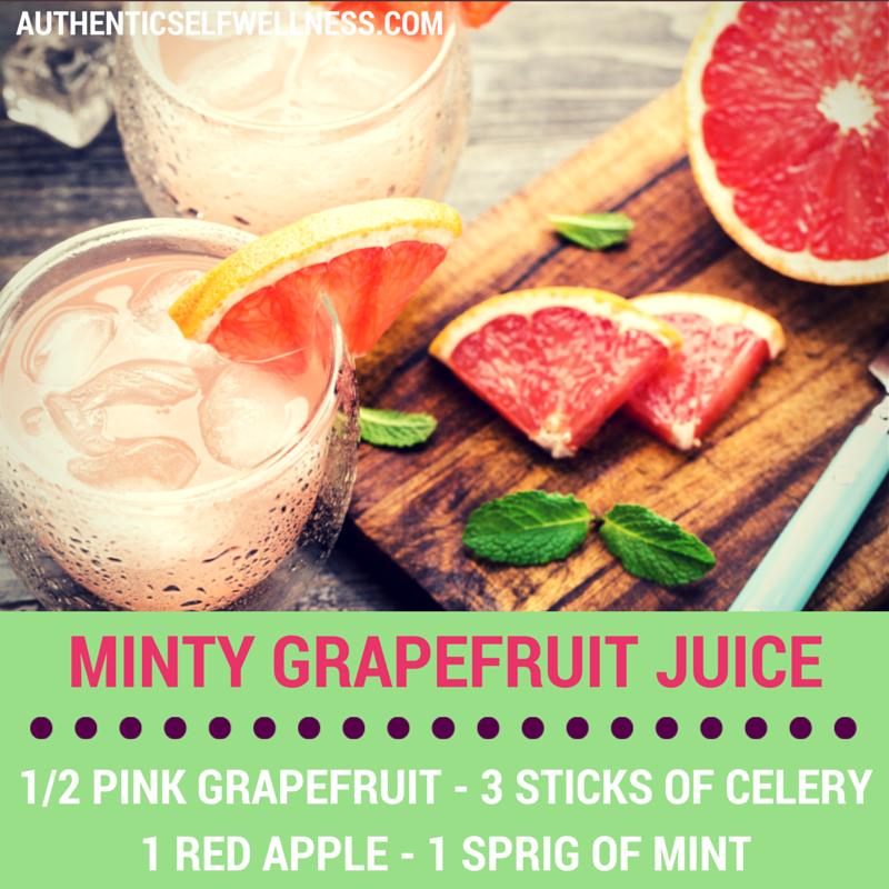 Mint Grapefruit Juice