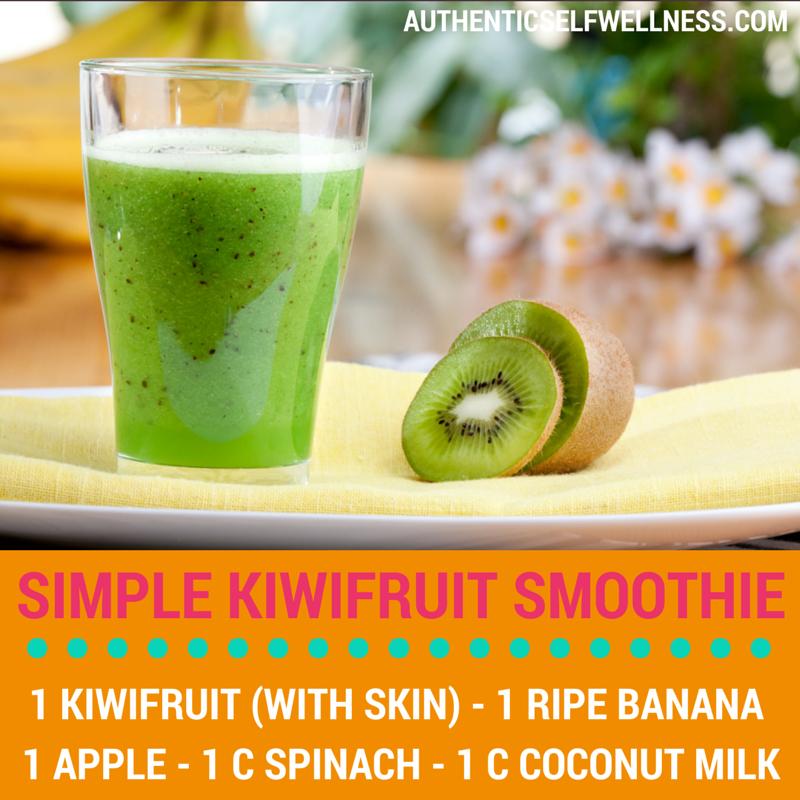 Simple Kiwifruit Smoothie