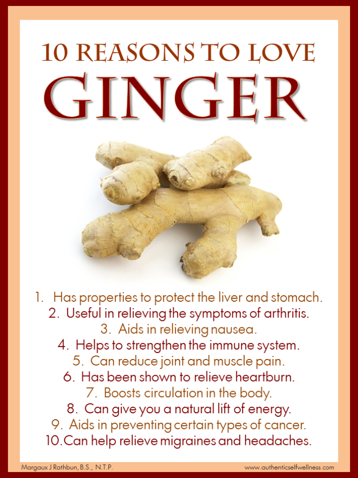 10 Reasons to Eat Ginger