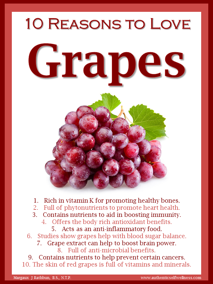 10 Reasons to Love Grapes