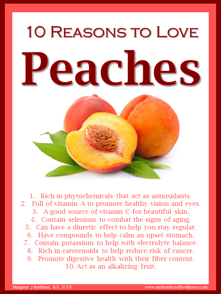 10 Reasons to Love Peaches